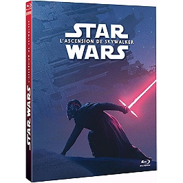 Star wars 9 : l'ascension de Skywalker, Fourreau ROUGE , Blu-ray