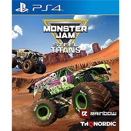 Monster jam - steel titans - (PS4)