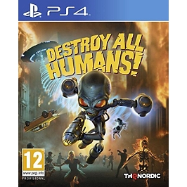 Destroy all humans ! (PS4)