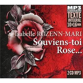 Souviens-toi, Rose, CD