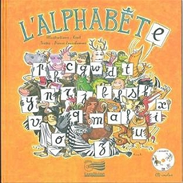 L'alphabête, CD + Livre