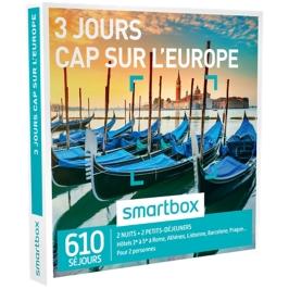 Smartbox - 3 jours Cap sur l'Europe