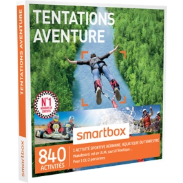 Smartbox - Tentations aventure