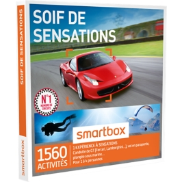Smartbox - Soif de sensations