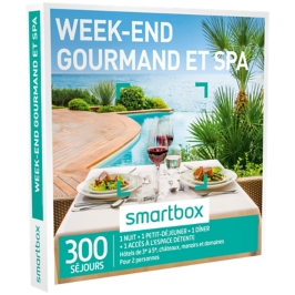 Smartbox - Week-end gourmand et spa