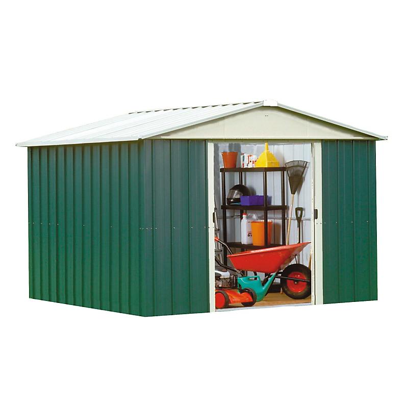 Abri de jardin en métal 0,3MM 7,90 m²