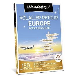 Wonderbox - Vol aller-retour Europe pour 1 personne