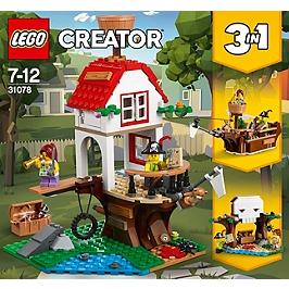 LEGO - LEGO® Creator - Les trésors de la cabane dans l'arbre - 31078 - 31078