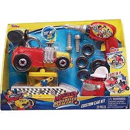 Personnalise la Voiture de Mickey et Crée 2 Voitures En 1, Avec son Kit de Customisation - Mickey Roadster Racers - 183599