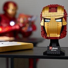 Lego® Marvel Super Heroes - Casque D'iron Man - 76165 - 76165