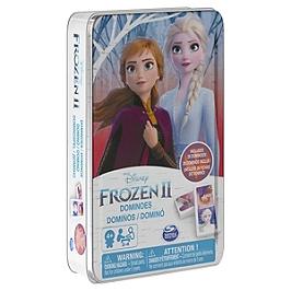 Boite Metal Dominos Frozen 2 - La Reine Des Neiges 2 - 6053258