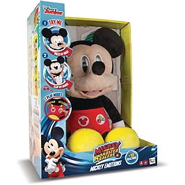 Mickey Emotions, Peluche Interactive Sonore - Mickey Et Ses Amis Top Départ! - IMC182684