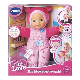 Litlle Love - Mon Bebe Coucou-Cache Rose - 80-169405