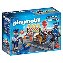 PLAYMOBIL - Barrage De Police - N/A - 6924