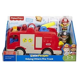 Fisher-Price - Le Camion De Pompier - Jouet D'éveil - 12 Mois Et + - Fisher Price Little People - FPV30