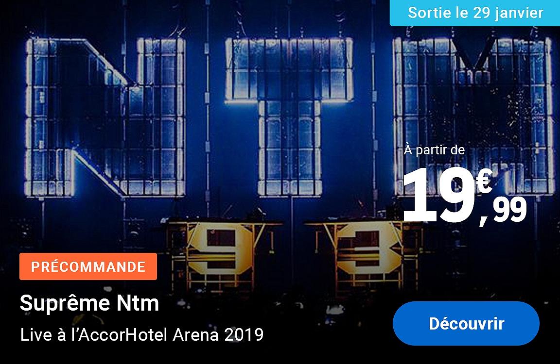 Suprême Ntm - live à l'AccorHotel Arena 2019