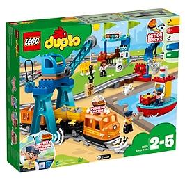 Lego® Duplo® Ma Ville - Le Train De Marchandises - 10875 - 10875