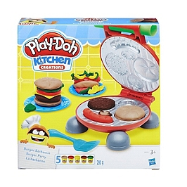 Play-Doh Kitchen  Pate A Modeler - Burger Party - Play-Doh - B5521EU60