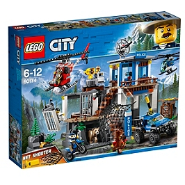 LEGO - Lego® City - Le Poste De Police De Montagne - 60174 - 60174