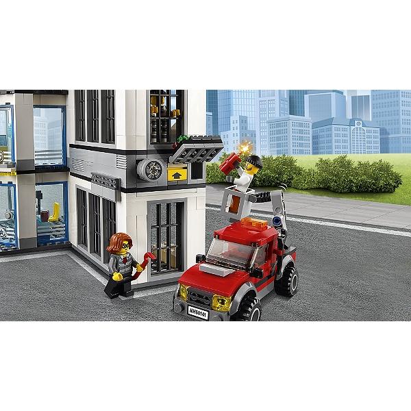 City Le Police Jouets 60141 De Lego® Commissariat Lego P8NnOwk0X
