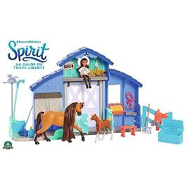 Spirit - Coffret Grange Avec Lucky, Spirit, Poulain & Acc. - Universal - PRT10