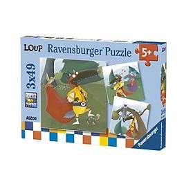 Puzzles 3X49 P - Le Loup Qui Voulait Être Un Super-Héros - Autres Licences - 4005556080571