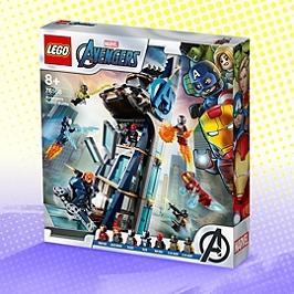Lego® Marvel Super Heroes - La Tour De Combat Des Avengers - 76166 - 76166