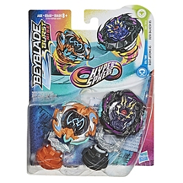 Beyblade Burst Rise - Pack Duel Hypersphere Toupies Dusk Balkesh B5 Et Right Artemis A5 - Beyblade - E7731EU40