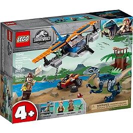 Lego® Jurassic World - Vélociraptor : La Mission De Sauvetage En Avion - 75942 - 75942
