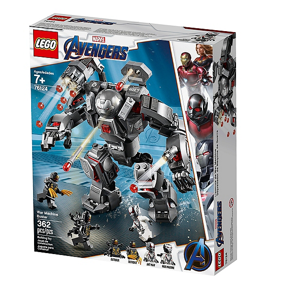 Super War De Heroestm Marvel Machine 76124 Lego® L'armure UMLpqSGzV