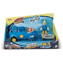 Mickey Et Ses Amis Top Départ! - Véhicule Transformable + 1 Figurine Donald - Mickey Et Ses Amis Top Départ! - 182820