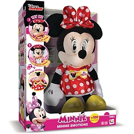 Minnie Emotions, Peluche Interactive Sonore - Disney - Minnie - IMC184961