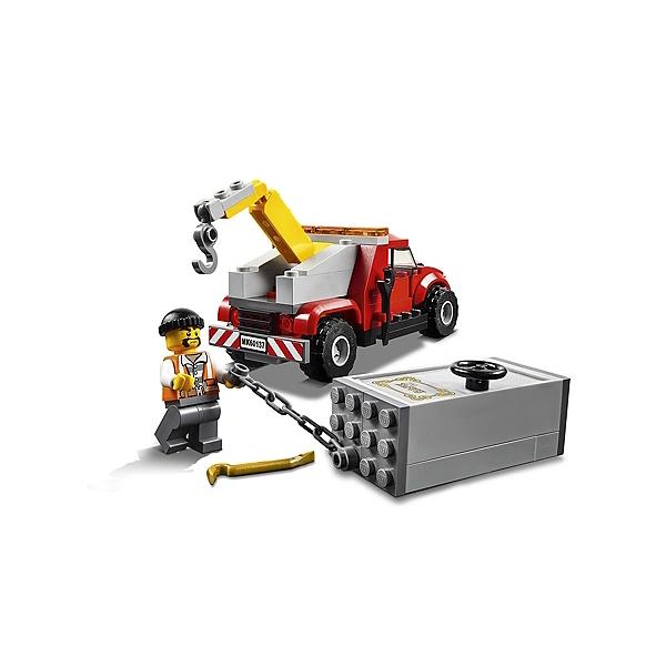 La Poursuite 60137 Du City Lego® Braqueur mN80vnw