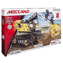 Pelleteuse Meccano - 2 Modèles - 6027036