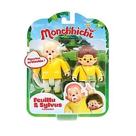Monchhichi Pack 2 Figurines Feuillu & Sylvus - Monchhichi - 81503