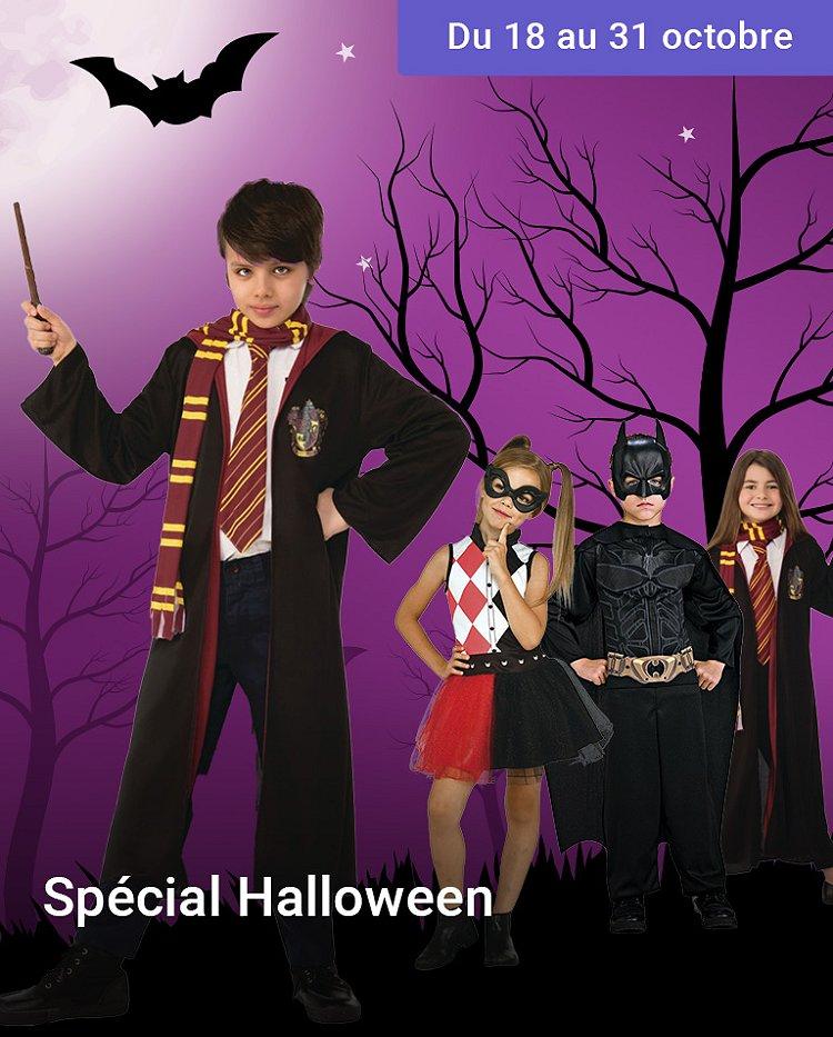 Retrouvez tous déguisements Halloween à prix E.Leclerc