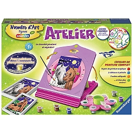Atelier Numéro D'art Chevaux - Aucune - 4005556296958