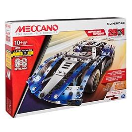 Supercar - 25 Modeles Motorises Meccano - N/A - 6044495