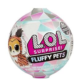 L.O.L. Surprise - Fluffy Pets - Modèle Aléatoire. En Présentoir 16Pcs - Aucune - LLU86