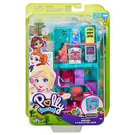 Polly Pocket - Pollyville La Salle De Jeux - Mini-Poupée - 4 Ans Et + - Polly Pocket - GFP41
