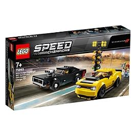 Lego® Speed Champions - Dodge Challenger Srt Demon 2018 Et Dodge Charger R/T 1970 - 75893 - 75893