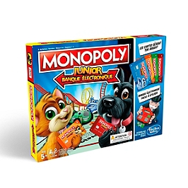 Monopoly Junior Electronique - Hasbro - E18421010
