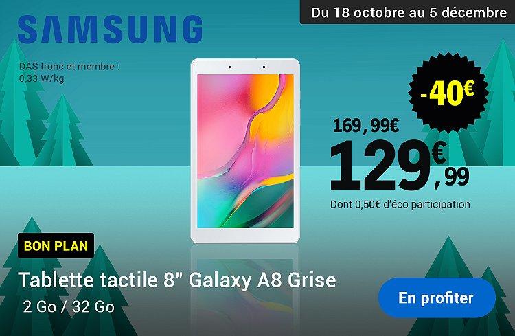 Tablette samsung galaxy a8 en promotion