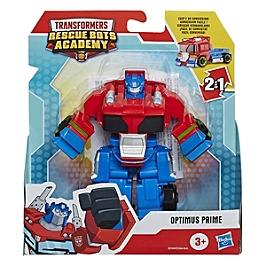 Transformers Playskool Rescue Bots Academy - Robot Secouriste Optimus Prime De 11 Cm - Jouet Transformable 2 En 1 - E8104ES0