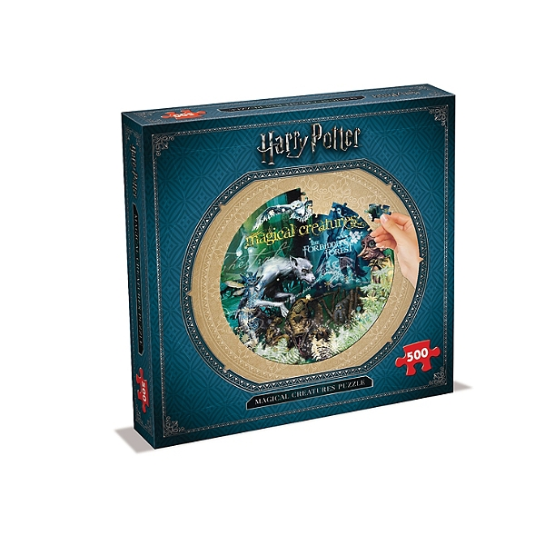 Puzzle Harry Potter - 500 Pièces Magical Creatures