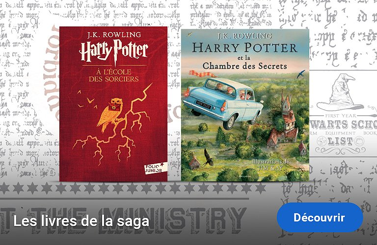 Tous les romans Harry Potter