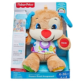 Fisher-Price - Nouveau Puppy Interactif - Peluche Interactive - 6 Mois Et +  - Fisher Price - FPM44