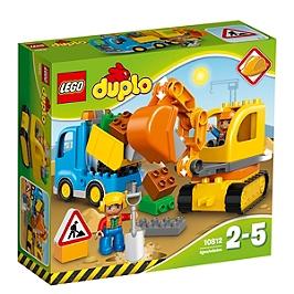 LEGO - Lego® Duplo® Ma Ville - Le Camion Et La Pelleteuse - 10812 - 10812