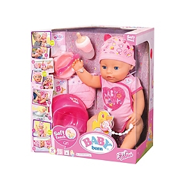 Baby Born Soft Touch - Fille 43Cm  - Aucune - BBY00