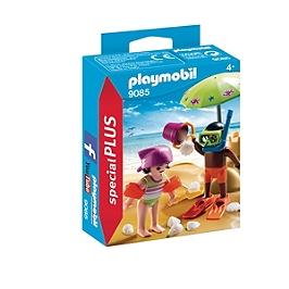 PLAYMOBIL - Enfants et châteaux de sable  - 9085